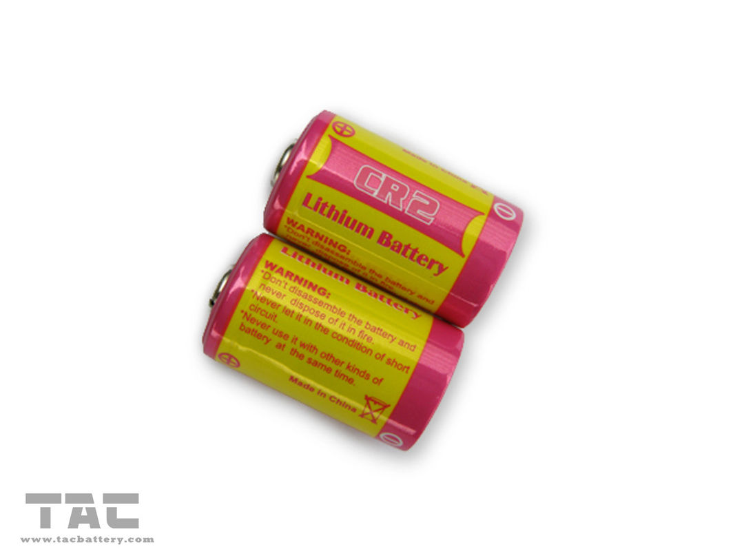 3V 750mAH LiMnO2 Battery CR2 Lithium Battery for GPS Security System