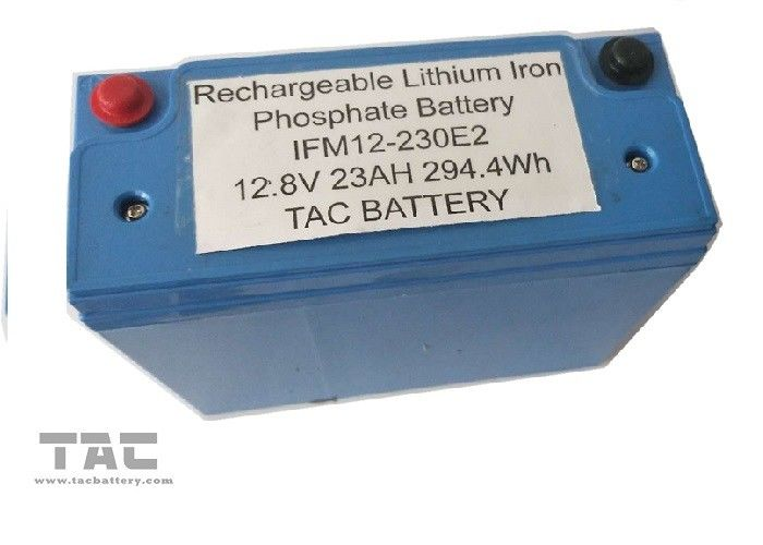 12V LifePO4 Battery Pack 26650 23AH With Housing UL2054 for Sloar Lighting