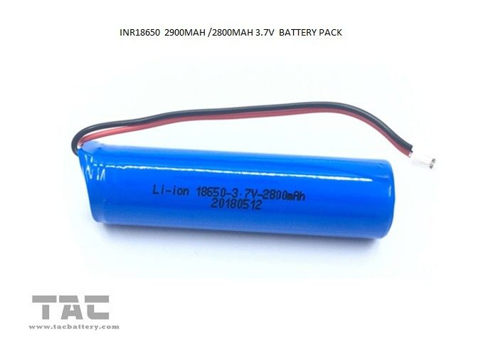 2900mAh Lithium ion Cylindrical Battery For Solar Spot Lights UL1642 Certification