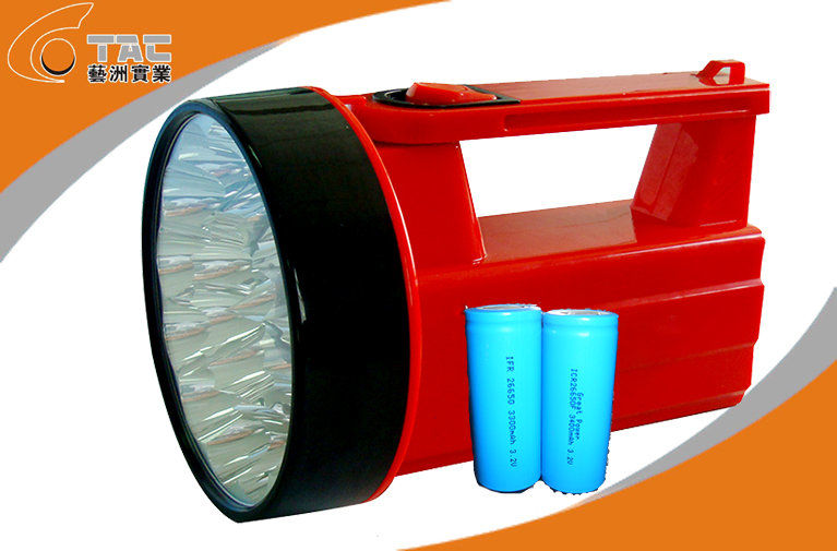 High energy density Solar Led Flashlight Lithium Ion AA Batteries 3.7V / 7.4V / 12.8V