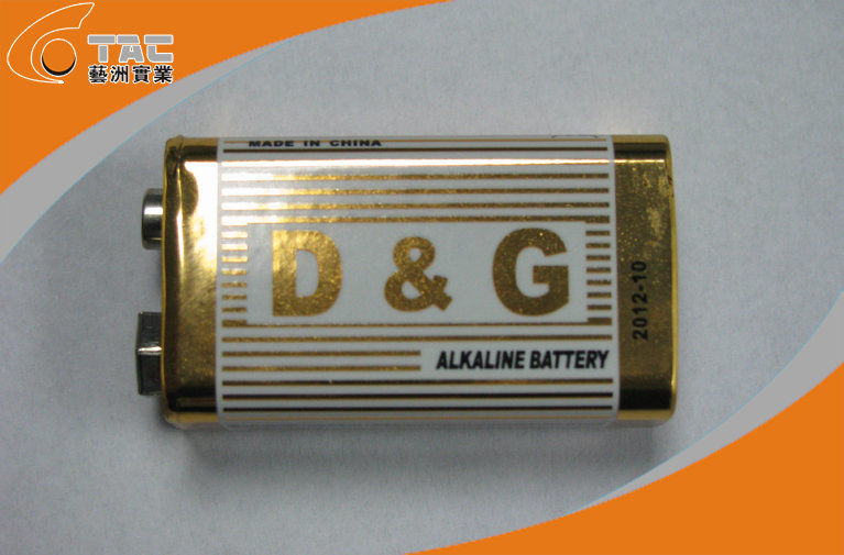 6LR61 AA OEM Brand Alkaline Battery 9v Super High Capacity for TV-Remote Control, Clock